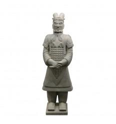 Statue guerrier Chinois Général 185 cm