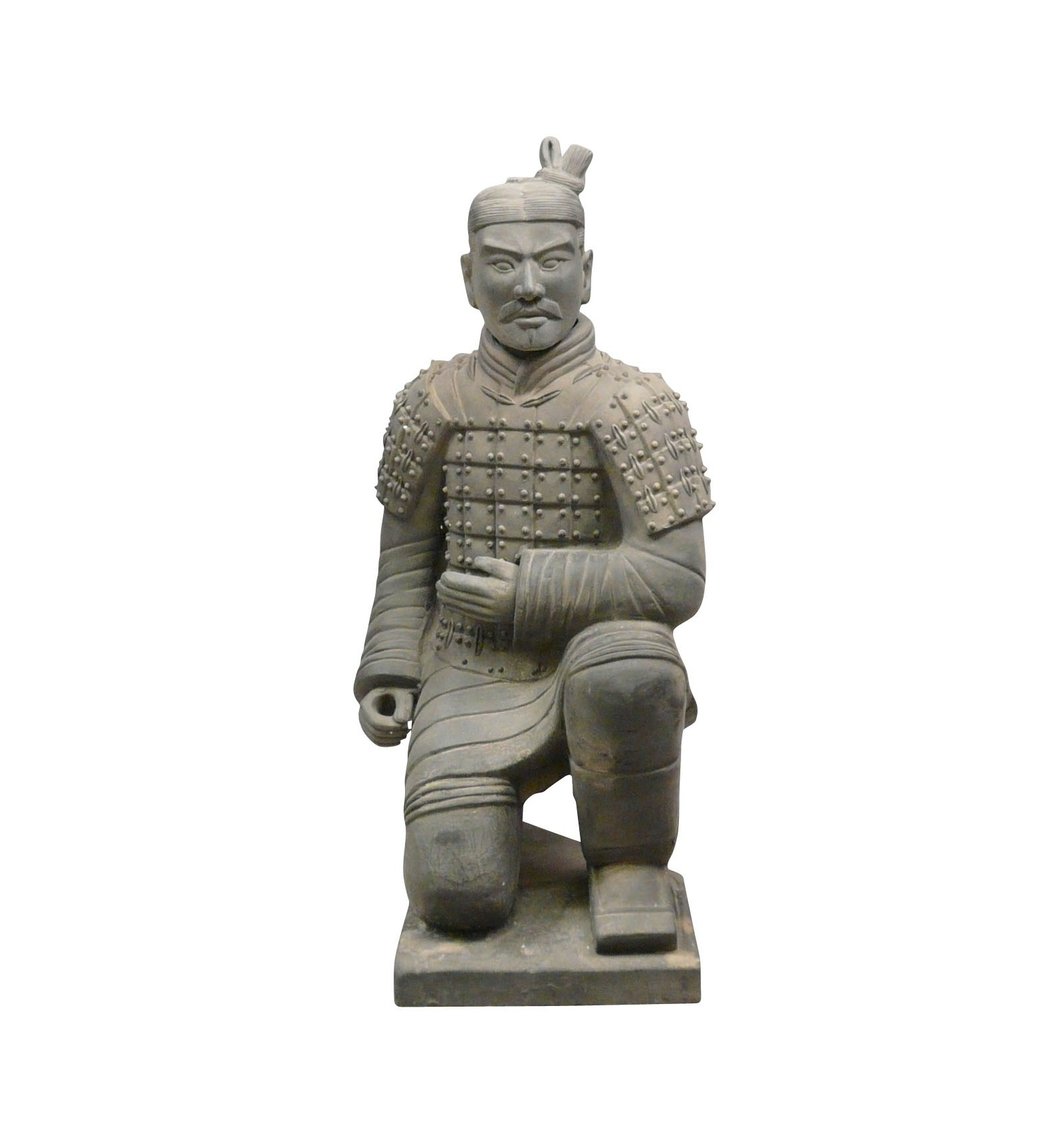 Statue Chinese Warrior Archer 120 Cm Soldiers Xian
