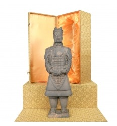 Général - Statuette soldat Chinois Xian en terre cuite