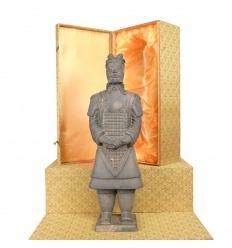 Generál - voják čínské Xian terakota, kterou soška vařené