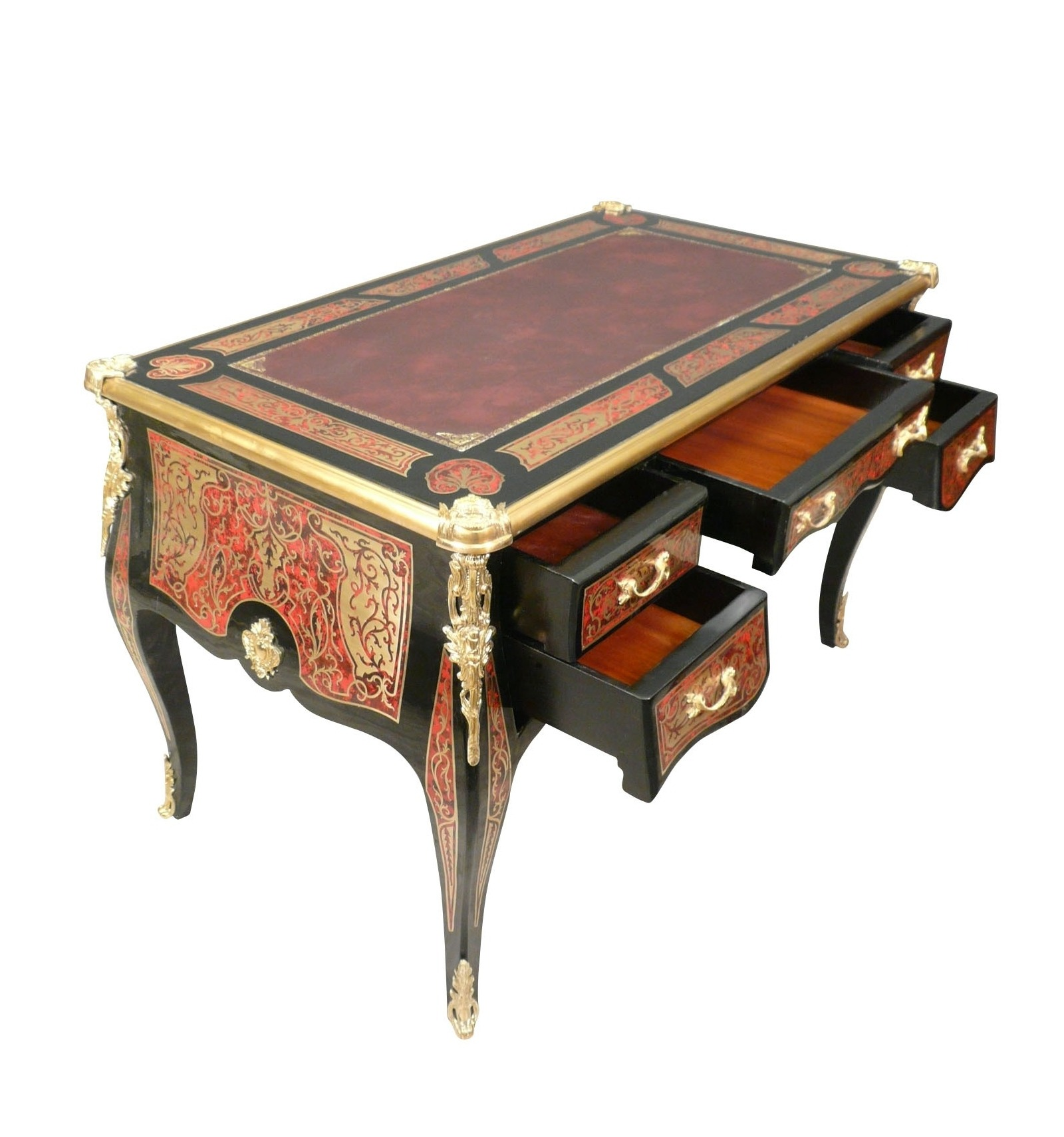 bureau louis xv g durandimportant louis xv style desk tobogan antiques louis xv style rococo. Black Bedroom Furniture Sets. Home Design Ideas