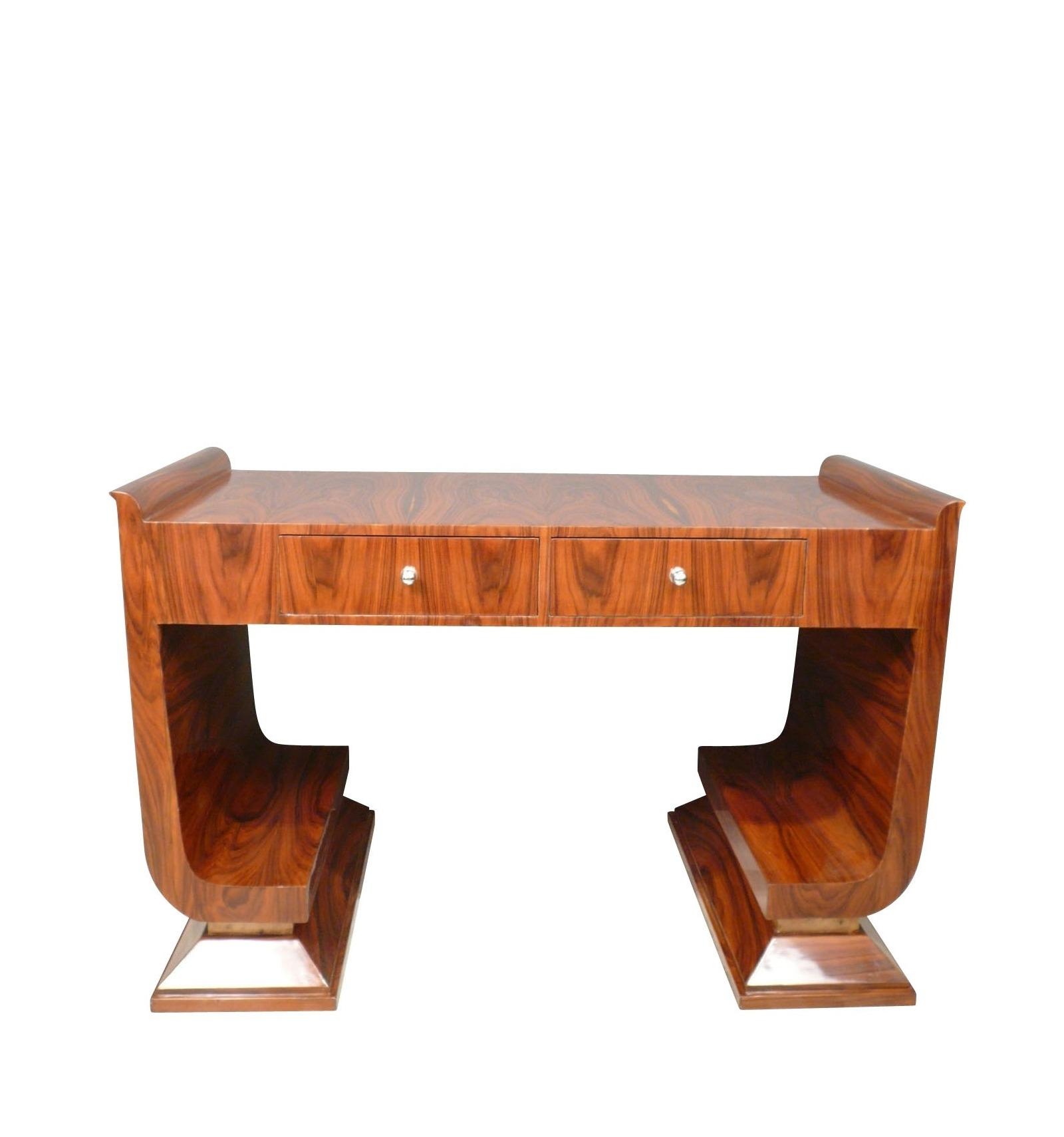 bureau art d co en palissandre meubles art d co. Black Bedroom Furniture Sets. Home Design Ideas