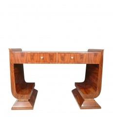 Art Deco Schreibtisch aus Palisander