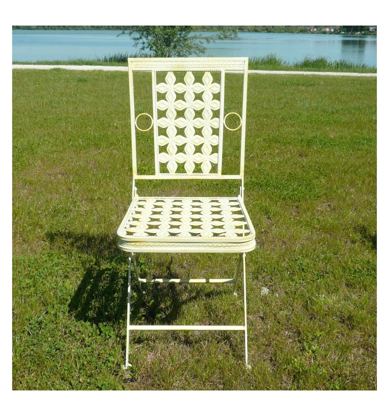 El hierro forjado muebles de jard n mesas sillas bancos - Muebles jardin hierro ...