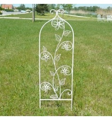 Obelisk wrought iron - set of 2 pieces