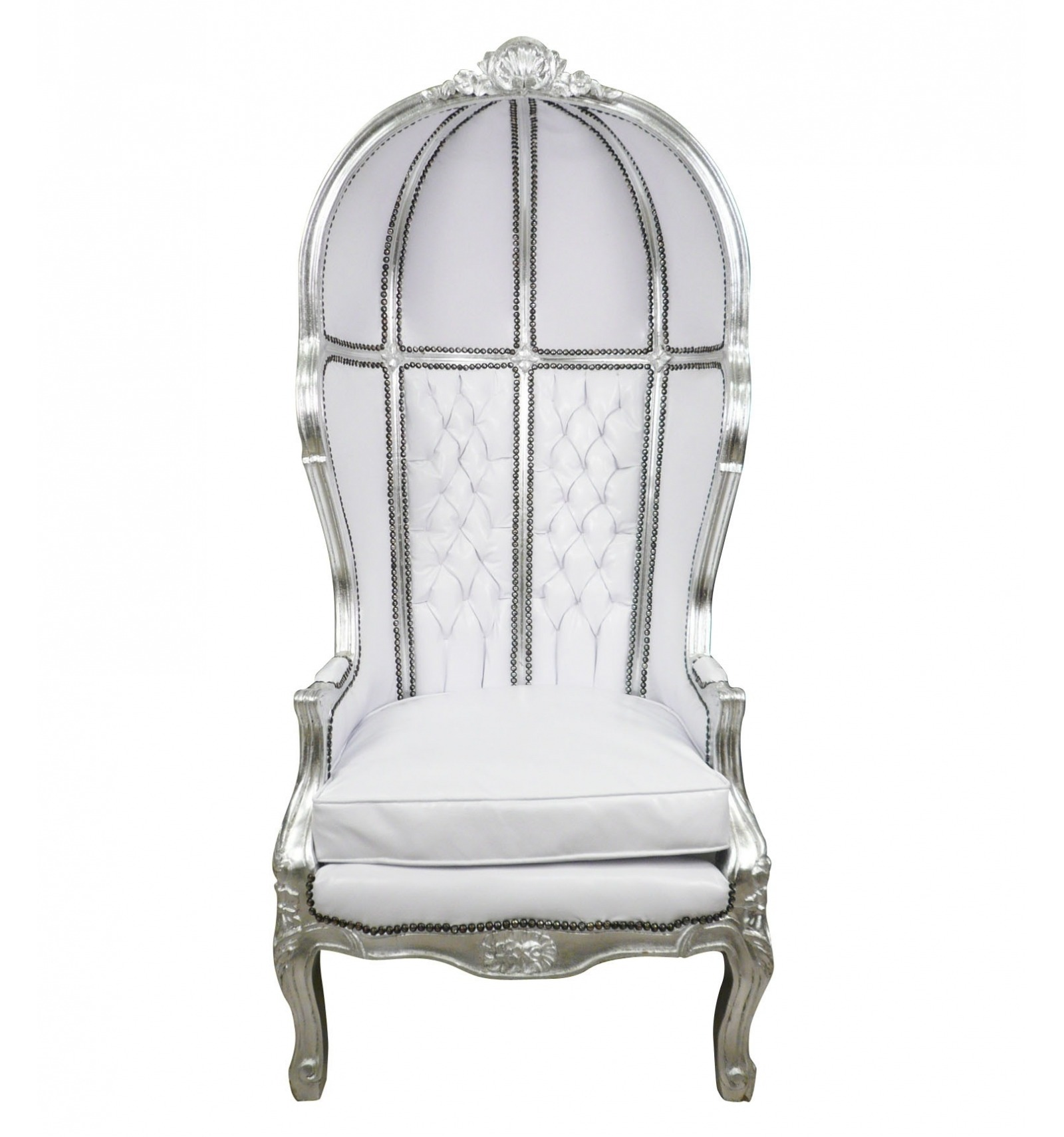 chair baroque white carriage and furniture baroque. Black Bedroom Furniture Sets. Home Design Ideas