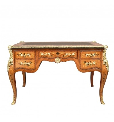 Louis XV Desk - Antique Style Furnishings -