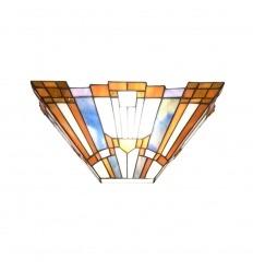 Nástěnné svítidlo Tiffany art deco New York