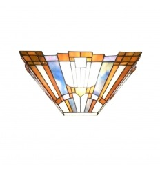 Wandleuchte Tiffany art deco New York