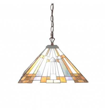 Lustre style Tiffany Art déco - Suspensions Tiffany