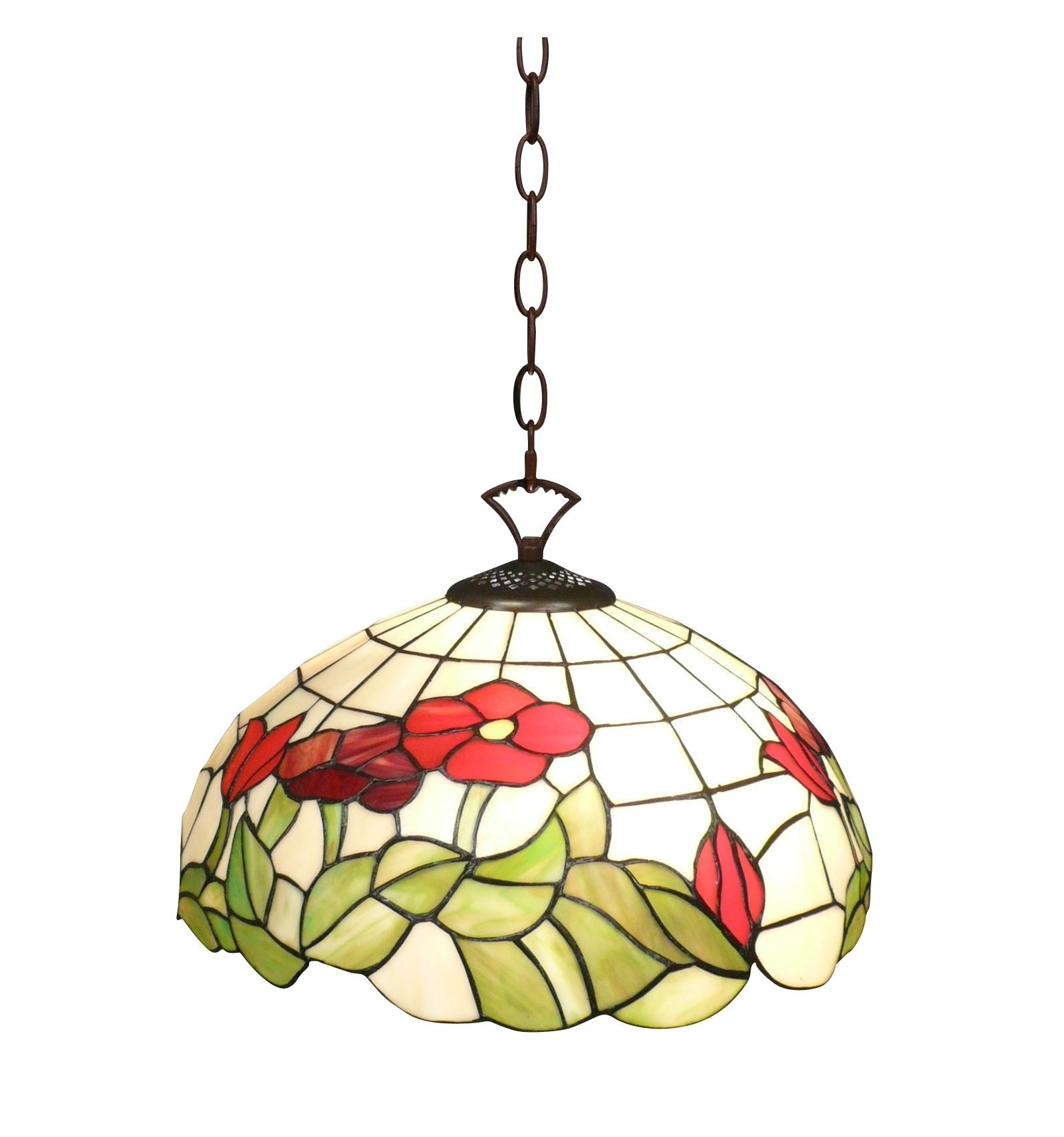 lampadario tiffany : Lampadario Tiffany della serie Miami - lampade