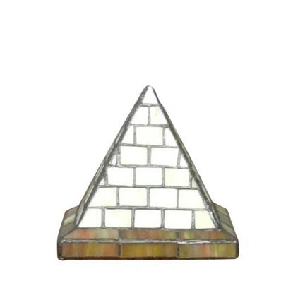 Tiffany Tischlampen informe einer pyramide