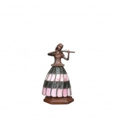 Pink Tiffany lamp