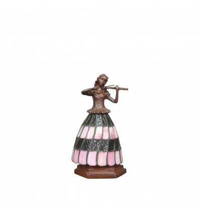 Tiffany figure lampe - Tiffany lampen