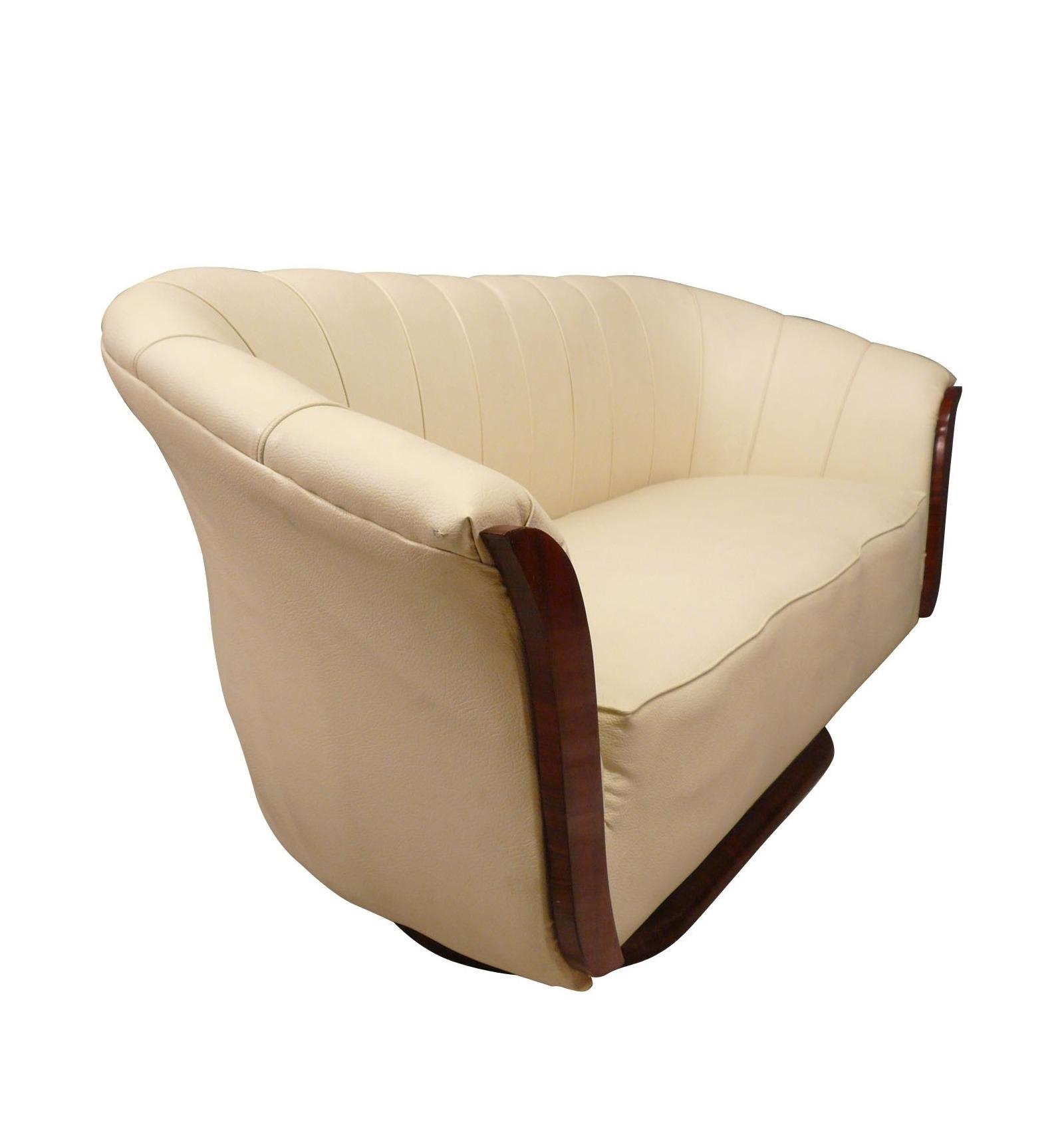 canap art d co fauteuils et meubles de salons de style. Black Bedroom Furniture Sets. Home Design Ideas