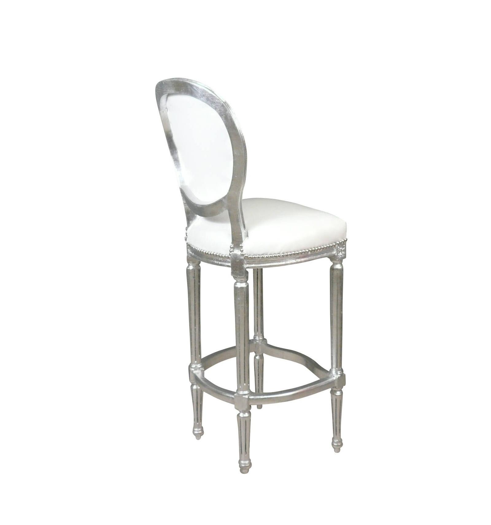 chaise de bar baroque de style louis xvi chaises pour mange debout. Black Bedroom Furniture Sets. Home Design Ideas