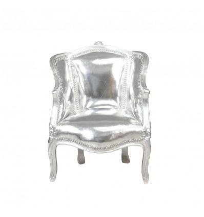 Barocke Bergère Louis XV - Sessel aus dem 15. Jahrhundert -
