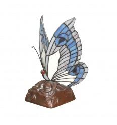Tiffany bordlampe lampe sommerfugl