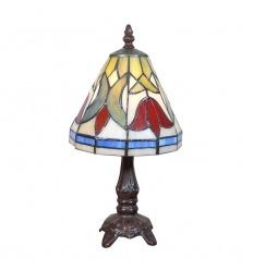 Pequeña lámpara Tiffany Tulips