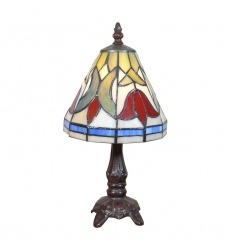 Small Tiffany Tulips Lamp