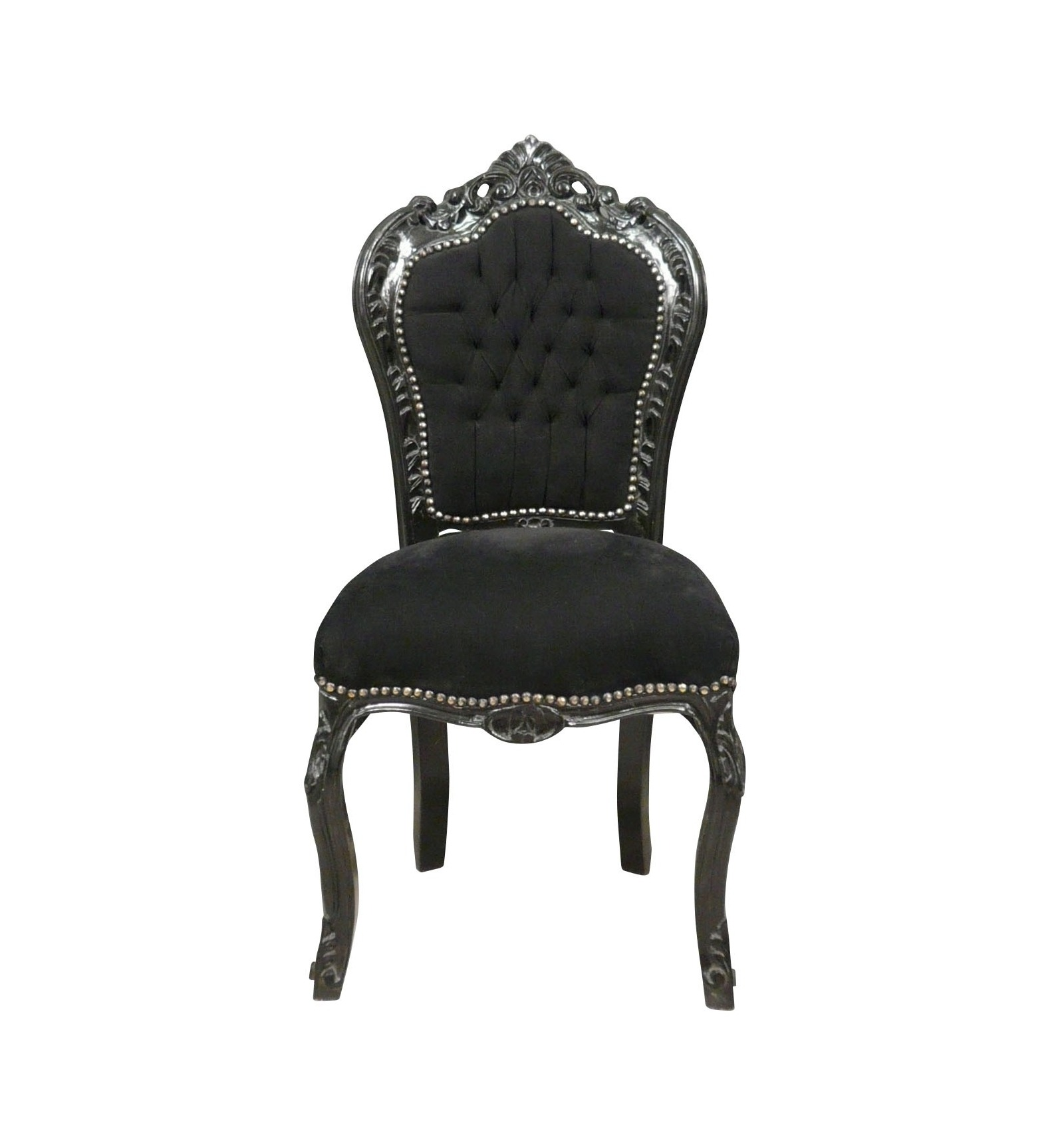 chaise baroque noire pas ch re mobilier baroque. Black Bedroom Furniture Sets. Home Design Ideas