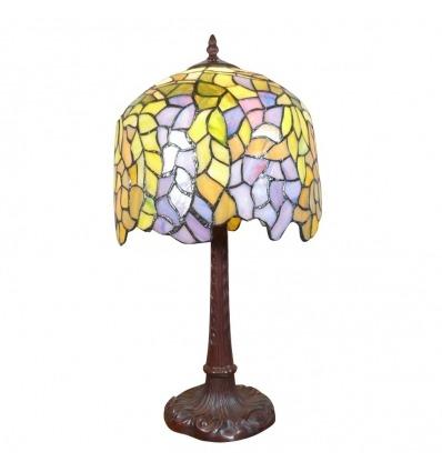 Stile di glicine lampada Tiffany