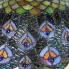 Tiffany Pfauenlampe - Lampenschirm