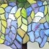 Lamp blauweregen stijl Tiffany