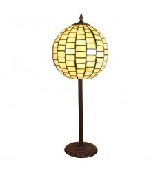 Tiffany Art Deco Lampe Manhattan