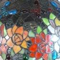 Lámpara Tiffany con los pájaros
