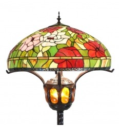 Large Tiffany floor lamp