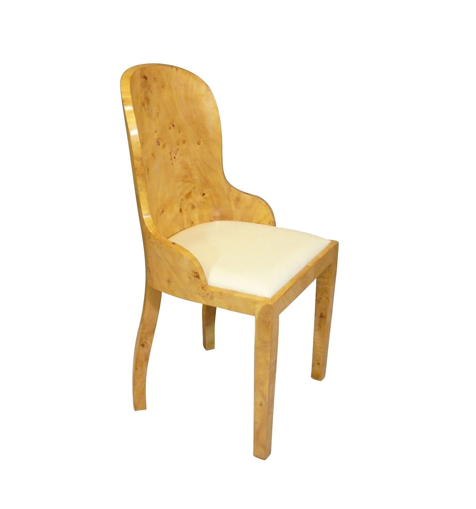 Chaise art d co fauteuils et meubles de style for Chaise deco