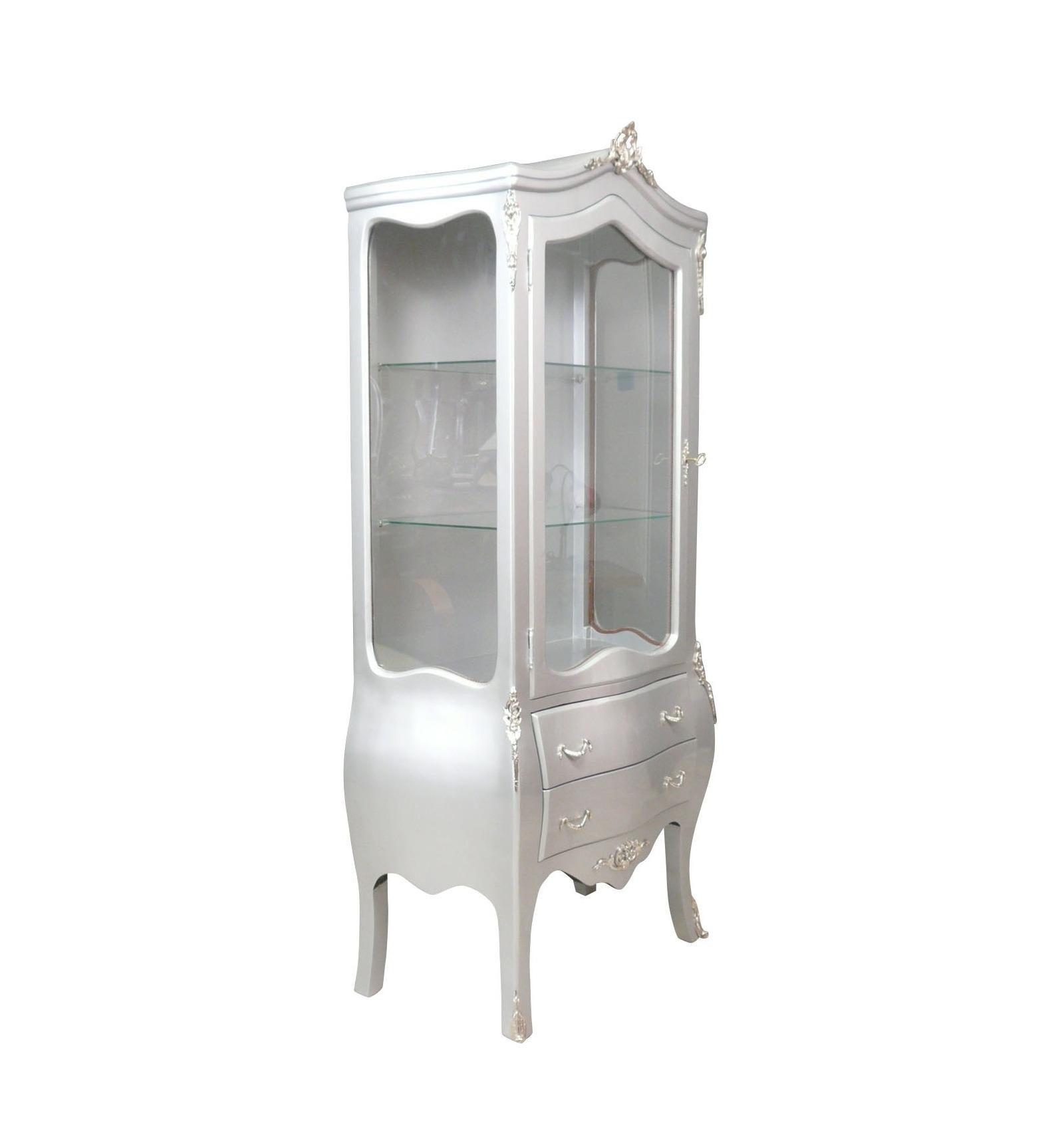 vitrine baroque argent e meubles baroques argent. Black Bedroom Furniture Sets. Home Design Ideas