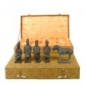 Set of 5 statuettes - Warriors Xian10 cm