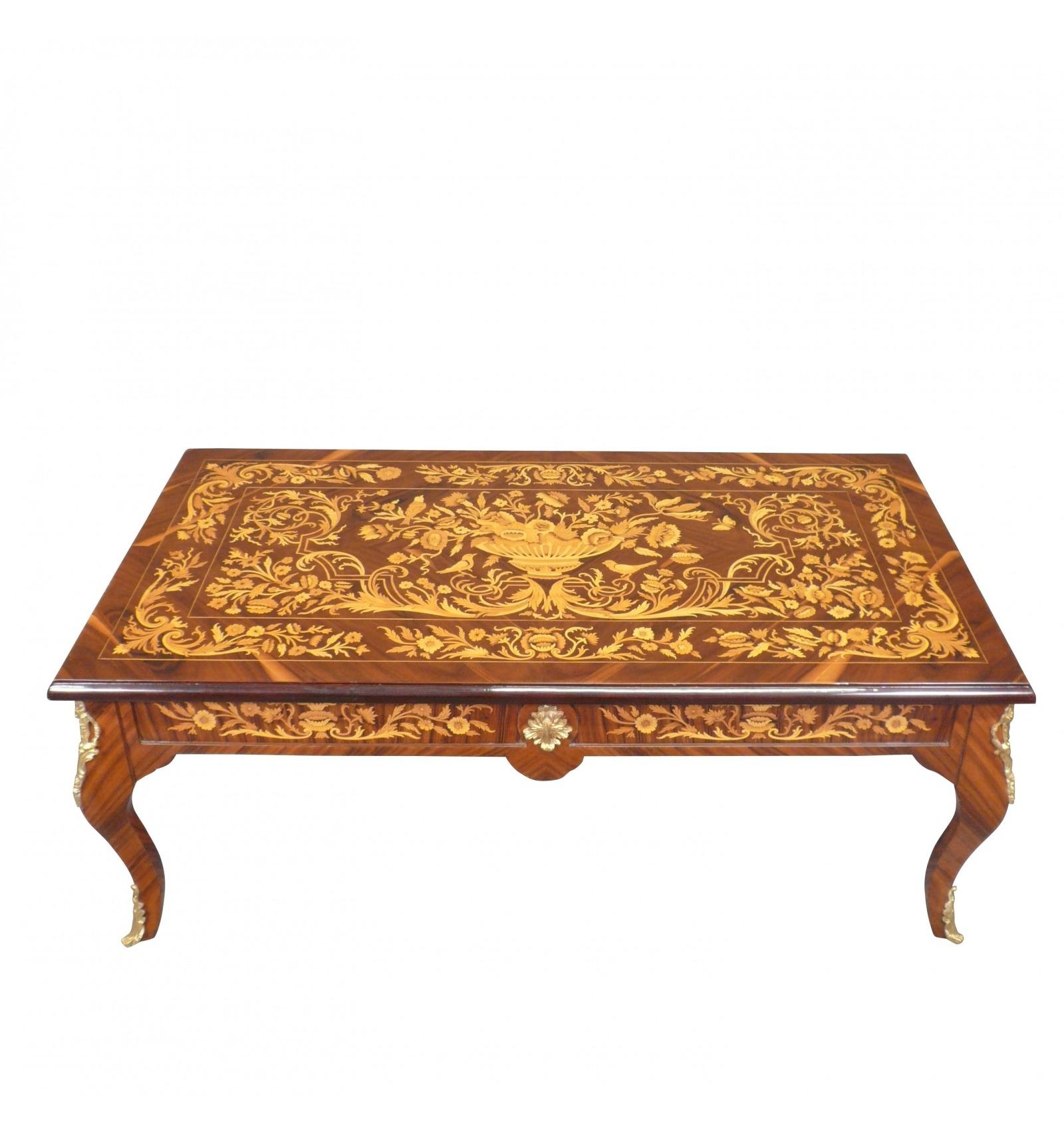Table basse louis xv meubles style louis xv - Table basse style louis xv ...
