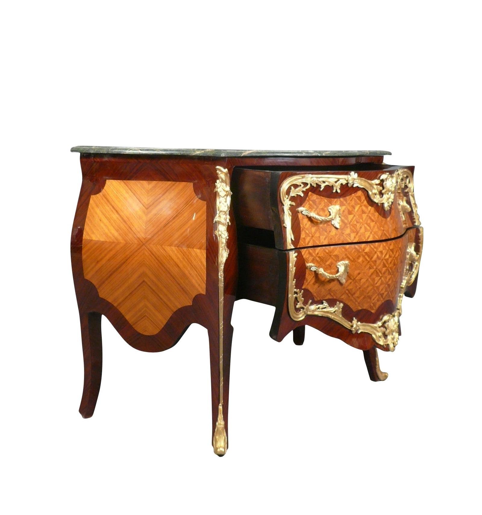 Commode louis xv copie de meuble de style ancien - Meuble de style louis xv ...