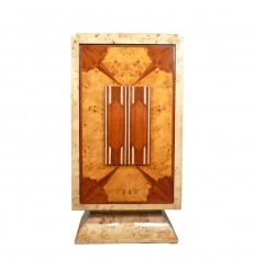 Art Deco bar with a swing door