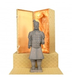 Fantassin - Statuette soldat Chinois Xian en terre cuite