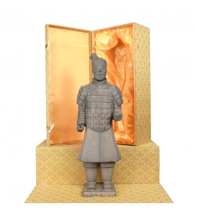 Fantassin - Statuette soldat Chinois Xian en terre cuite de Xian -