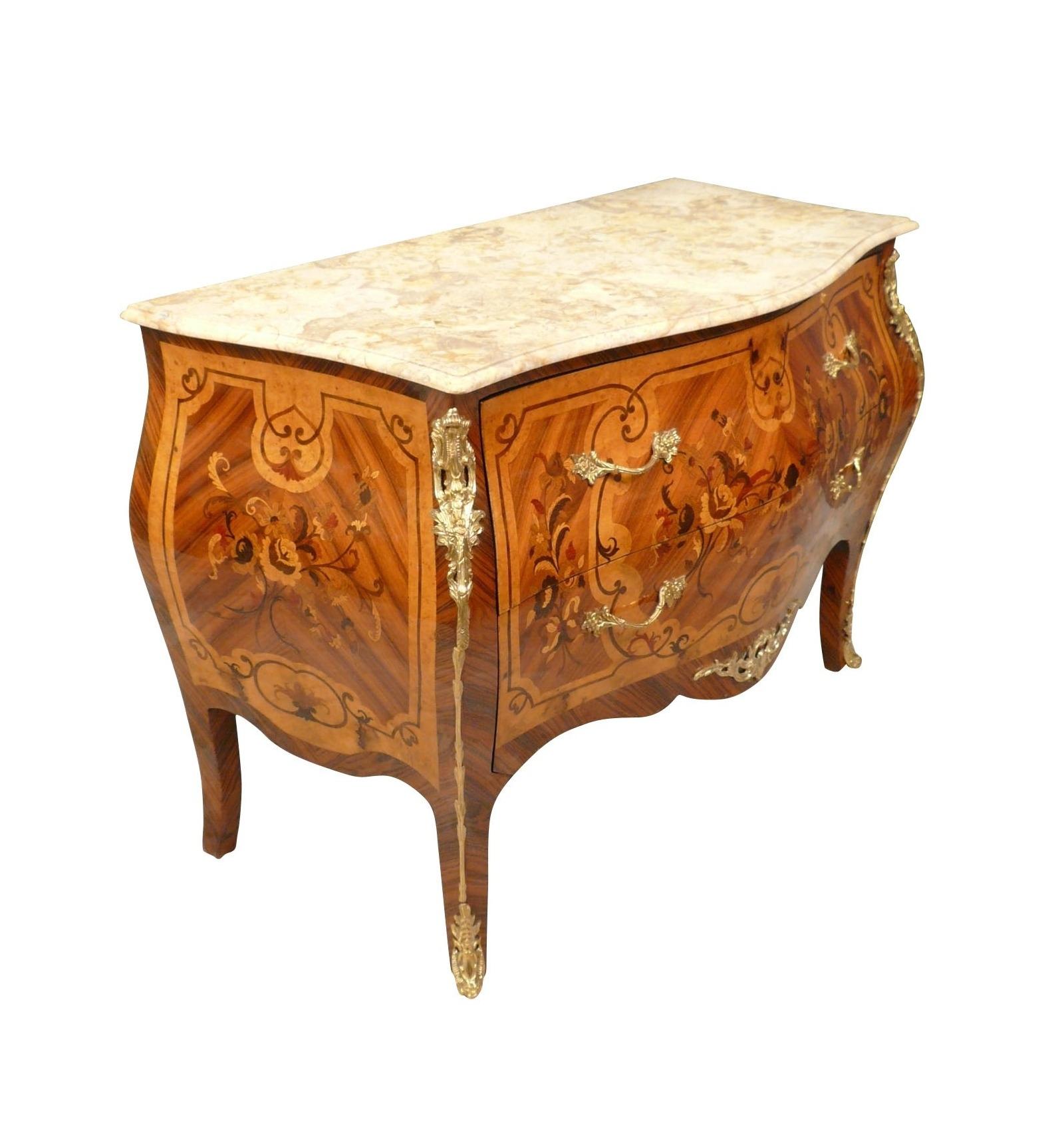 Commode louis xv mobilier de style - Commode style louis xv pas cher ...