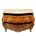 Commode 2 tiroirs Louis XV