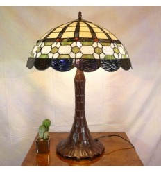Tiffany glas lampe