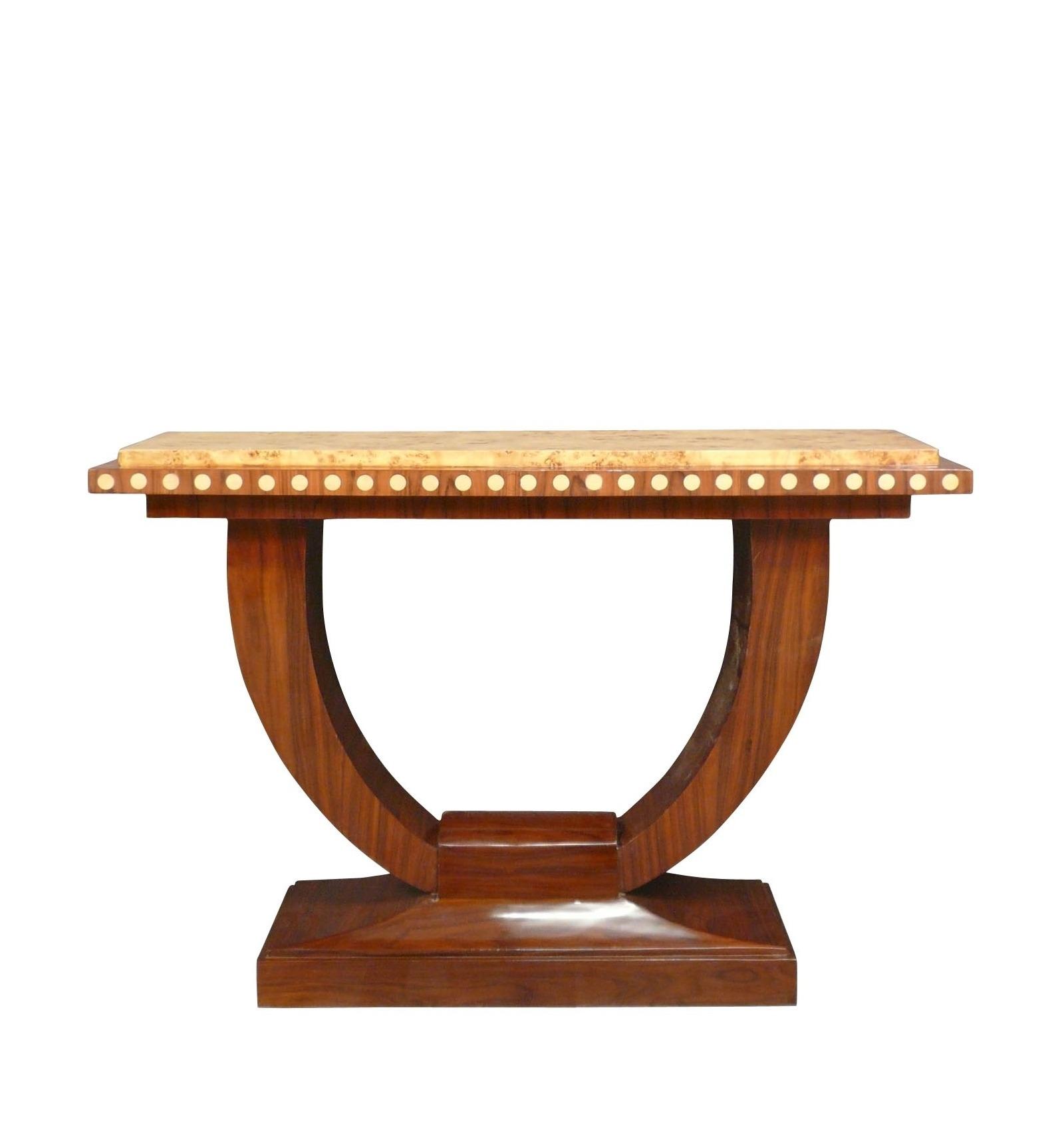 console art d co style 1920 meuble d 39 antiquit. Black Bedroom Furniture Sets. Home Design Ideas