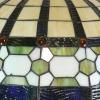 Tiffany-lasista valmistetut valaisimet
