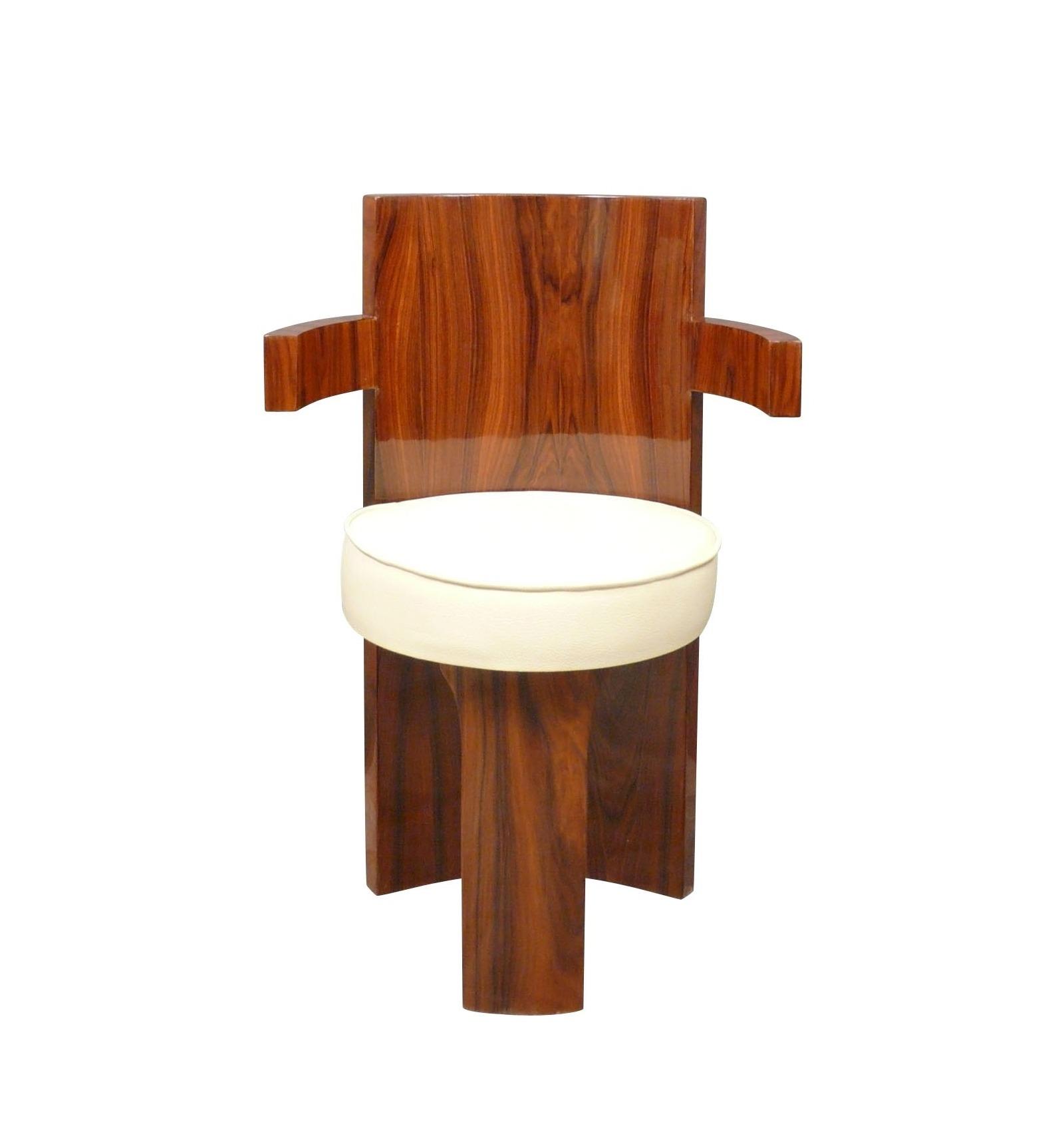 Poltrona art-déco per scrivania - sedia