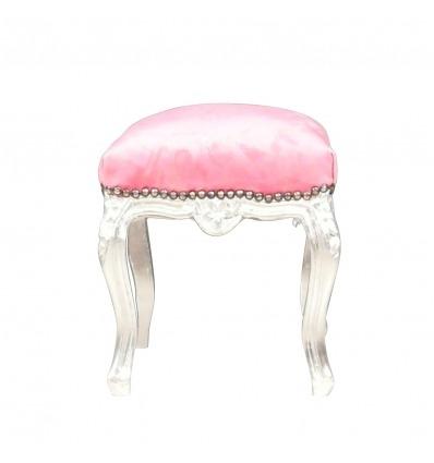 Rosa PUF barroco - barrocos sillones