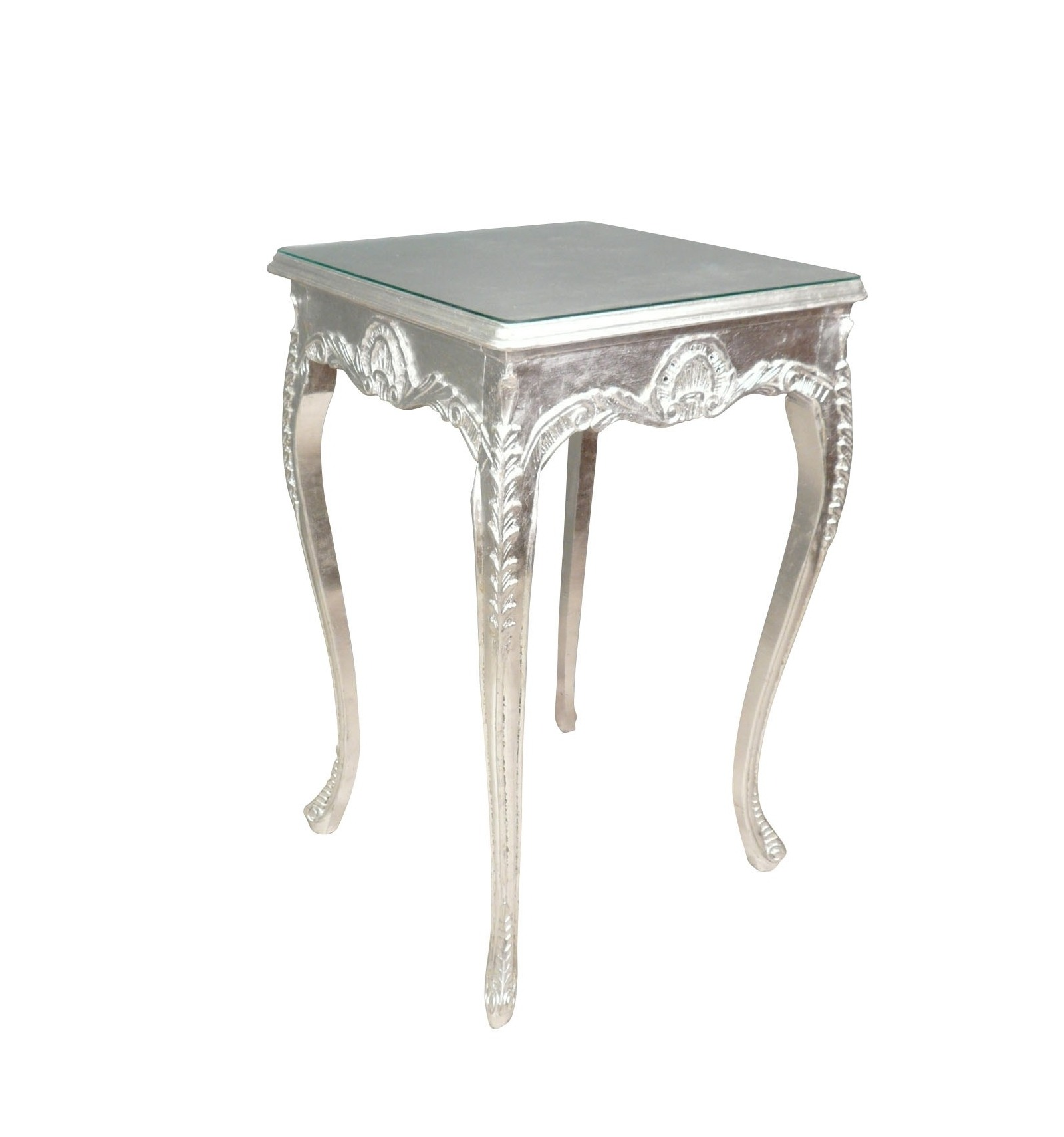 baroque table bar silver furniture rococo