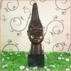 Bronzen beeld van een vrouwelijke buste