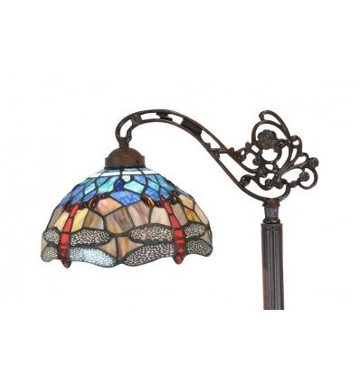 Lámpara de pie-Tiffany-con-las celdas