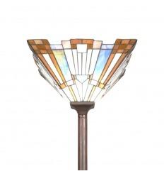 Lámpara de pie Tiffany New York estilo Art Deco